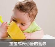 宝宝成长必备的营养