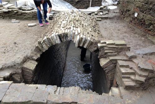 成都发现唐末遗址排水系统令人惊叹