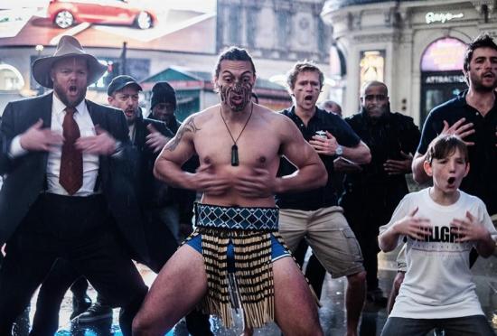 英国全球创业周毛利人大跳传统哈卡舞