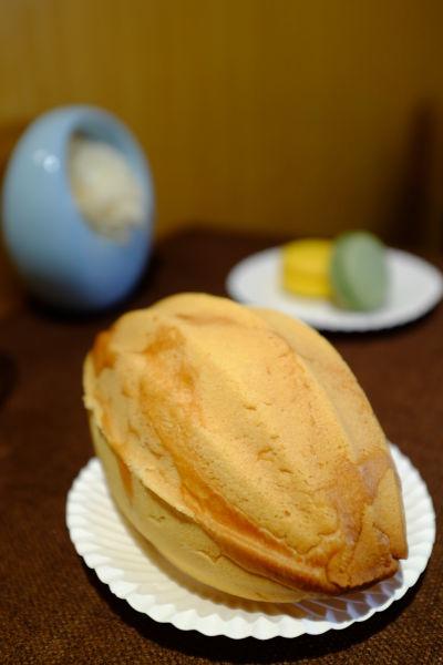 店内的产品以欧式面包为基础