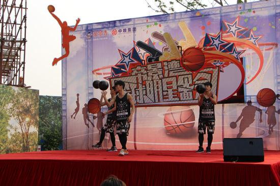 帝景湾篮球欢乐嘉年华 引爆清远篮球热潮