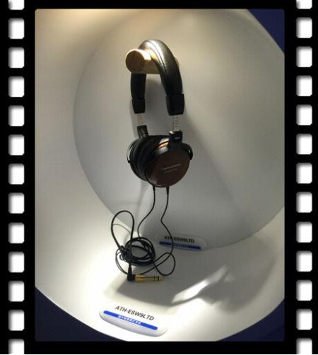 ATH-ESW9LTD限量版木耳罩便携式耳机