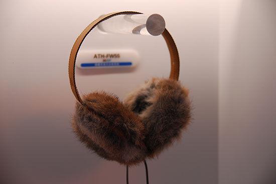 ATH-FW55保暖耳罩式女性耳机
