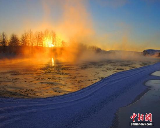 中国十大最美雪乡新疆阿勒泰公布滑雪靓照