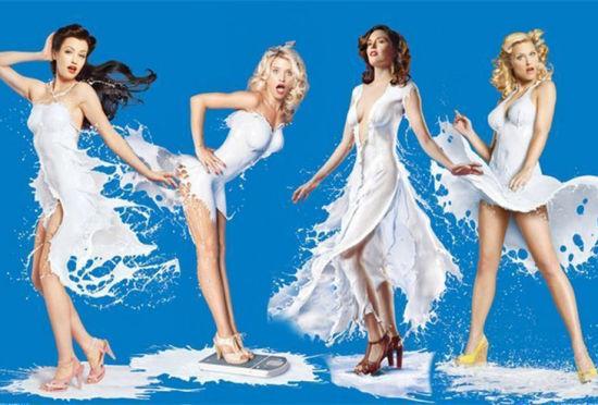 可口可乐公司推出史上最性感牛奶广告