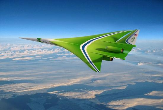 美宇航局研制新奇概念飞机:超音速旅行