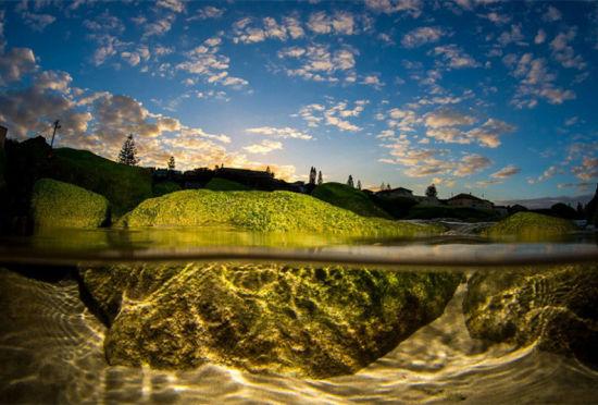 澳洲摄影师追逐风浪拍摄震撼海滩美景