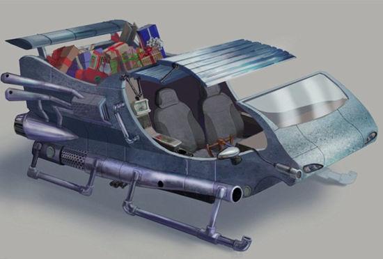 英国将推圣诞老人滑车混合动力火箭助推