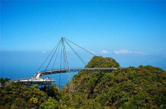 兰卡威天空之桥门票_全球最让人膜拜的桥 欣赏独一无二的美景_新浪清远