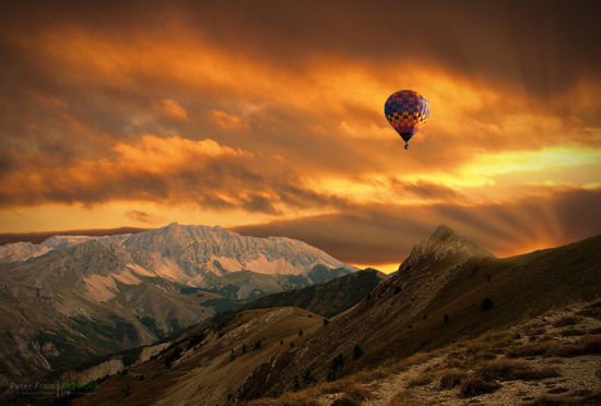 摄影师制作如油画般浓墨重彩的风光照片