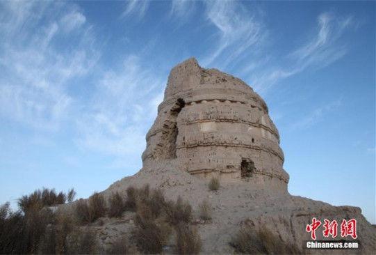 镜头记录戈壁中的世遗:锁阳城遗址