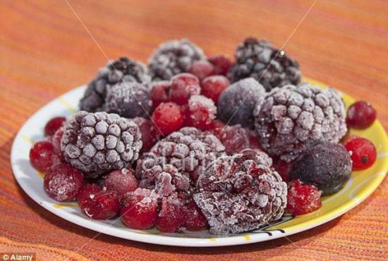 爱上冷冻食品:专家称可保留维生素矿物质