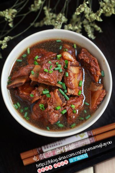 用电饭煲做菜 简单易做的电饭煲卤仔排