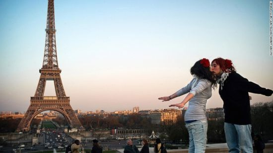 埃菲尔铁塔(法国,巴黎)