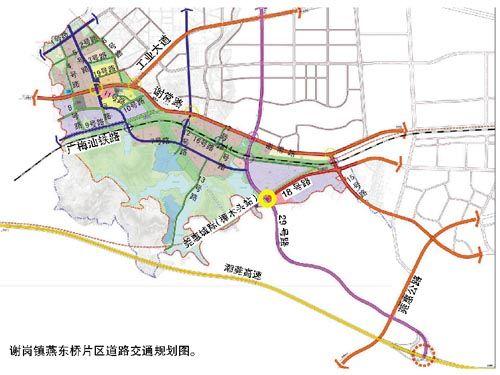 东莞市谢岗镇地图_谢岗镇有几个村