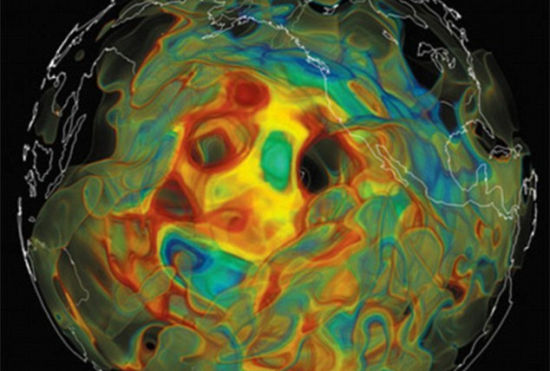 科学家用地震波绘制地球内部:精确度空前