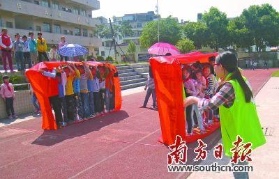 清远青桥连南走进社工县寨岗镇中心小学脱小学生图片