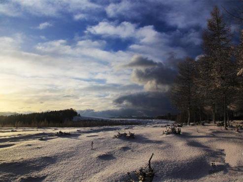 雪后天山美如画