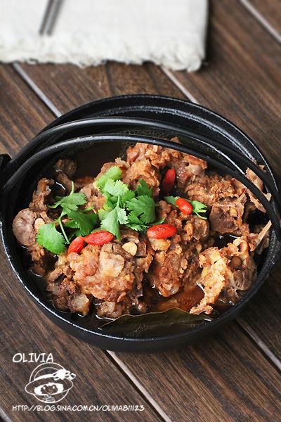 羊蝎子贴着菜谱的肉最香好吃易做版鱿鱼_新浪鼓浪屿骨头焖豆腐图片