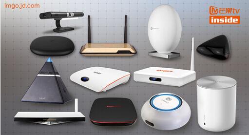 (图:芒果tv互联网电视机顶盒产品)