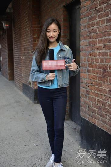 倪妮时尚街拍 教你穿出小清新风(多图)