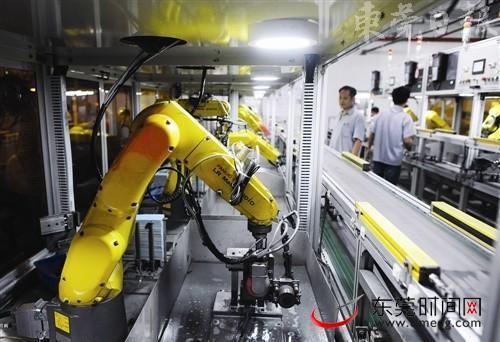 东莞工业机器人产业发展已走在全国前列。