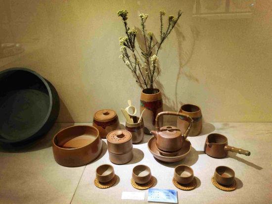 陶瓷产品设计专业毕业生共计59件(套)作品