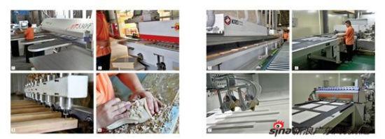 锯,自动仿形封边机,uv滚涂,淋涂,自动往复喷涂生产线等浴室柜生产设备