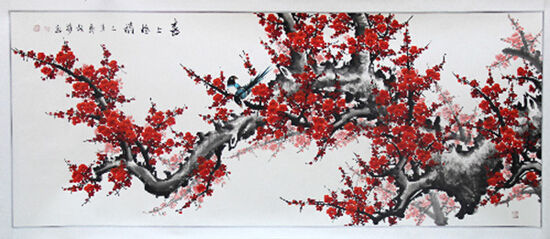 花鸟画是中国画中重要组成部分,同样花鸟画具有独特的艺术表现力与