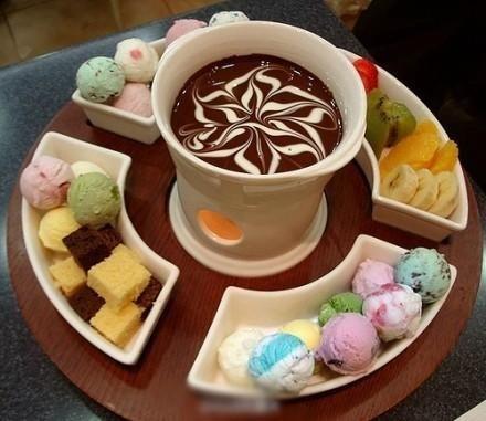 冰淇淋火锅:来点不一样的