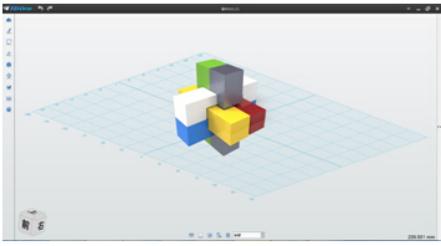 3DOne简单易用的堆积木式的操作界面