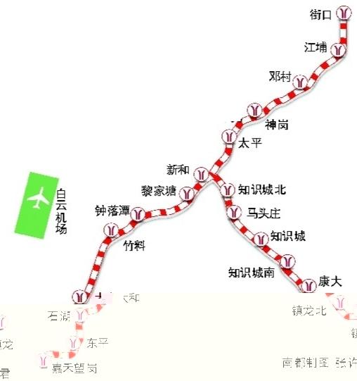 广州地铁十四号线 广州地铁知识城线 广州地铁十四号线线路图图片