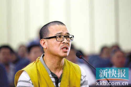 郑年胜昨日出庭受审。通讯员供图