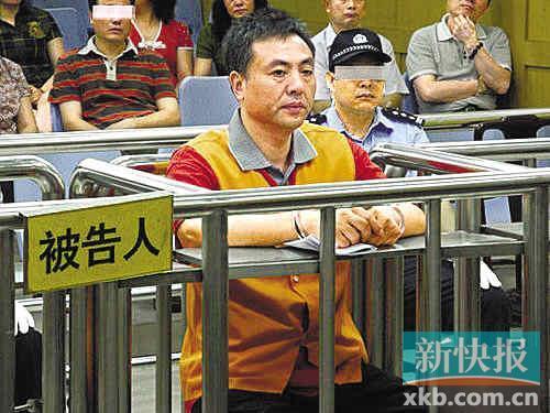 五月份,冯仕儒过堂受审。中新供图