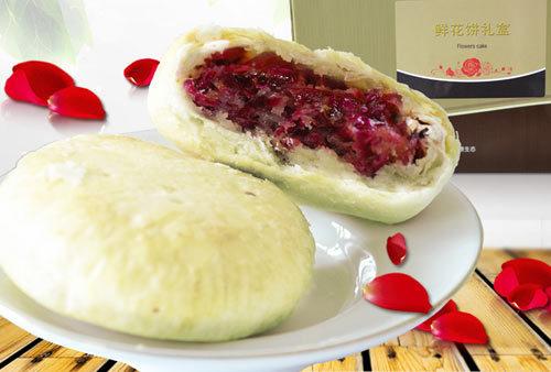 玫瑰花月饼-来一个巧克力香辣牛肉味 你确定是月饼吗