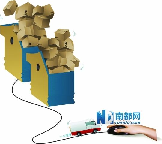 1派件压力大 揽收近9万件过亿件包裹或未发货 新浪广东财经图片