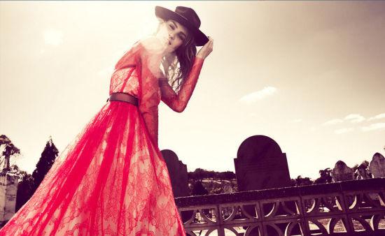 时尚人像:自由灵魂下的典雅气质