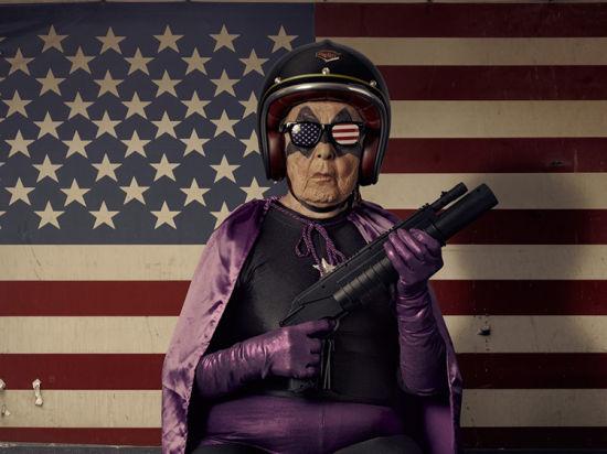 趣味人像摄影:超人奶奶的星球大战