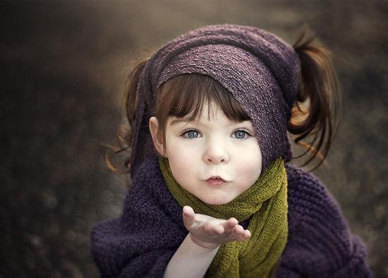 儿童摄影:独臂小女神