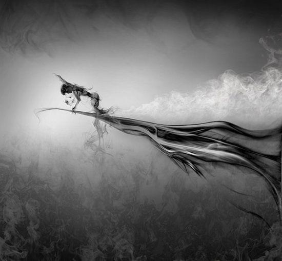 烟雾的艺术国外摄影师创意后期作品