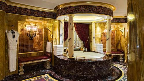 盘点世界最贵的十大酒店套房(图)