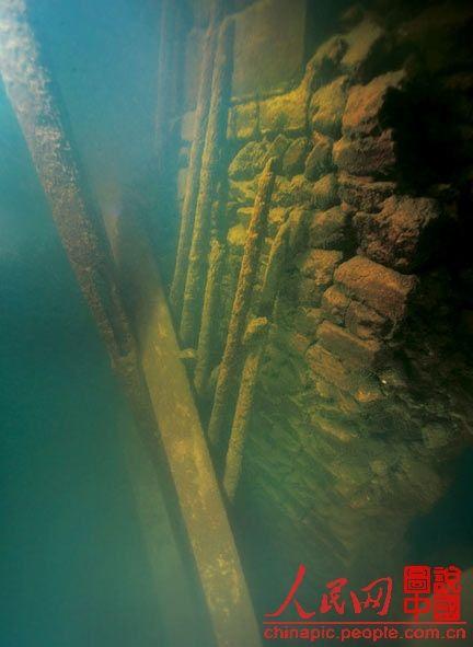 探秘千岛湖水下的汉唐古城