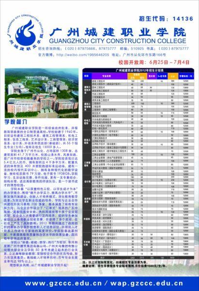 广州城建职业学院招聘信息