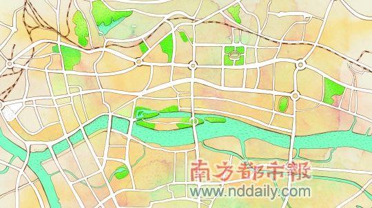 广州高富帅活动地图