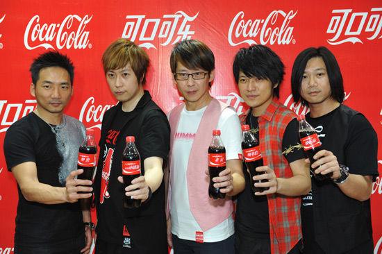 可口可乐谁代言的啊图片