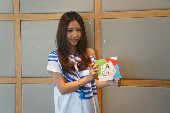 刘美麟很满意首张专辑作为成人礼
