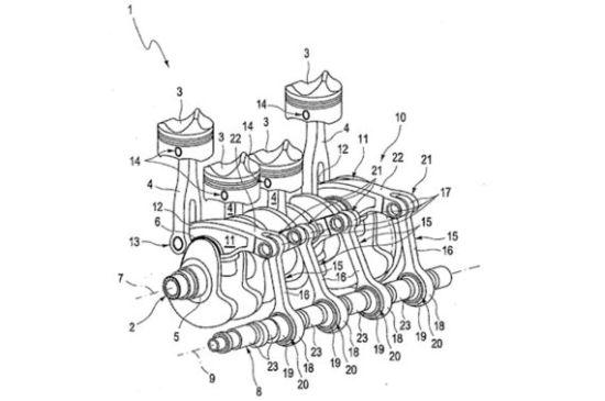 奥迪研发全新四缸发动机 创新曲柄连杆机构_湛江车市