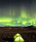 冰岛出现北极光