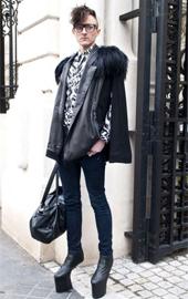 巴黎时装周潮人街拍