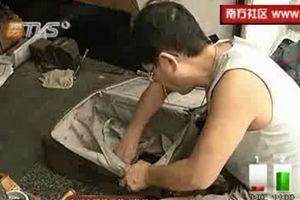 广州修行李箱达人 一小时搞定任何损坏